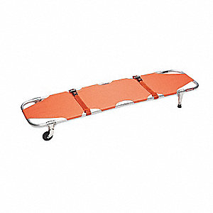 Stretcher,350 lb.,74 In.,Orange
