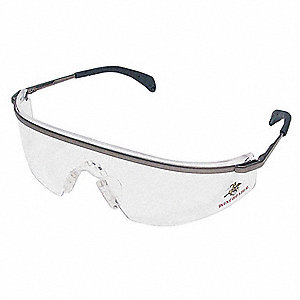 Winchester Scratch-Resistant Safety Glasses, Silver Mirror Lens Color