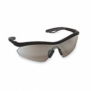 Hombre® Scratch-Resistant Safety Glasses, Gray Lens Color
