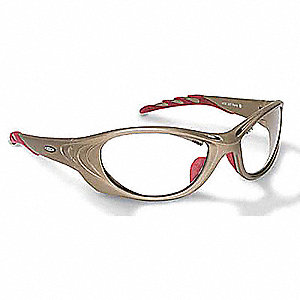 Fuel  Anti-Fog Safety Glasses, Clear Lens Color
