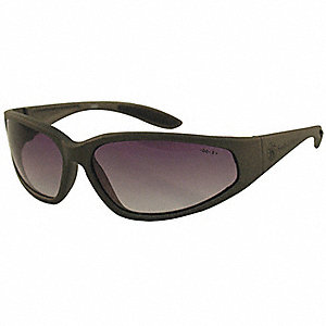 Smith & Wesson® 38 Special Scratch-Resistant Safety Glasses, Gradient Smoke Lens Color