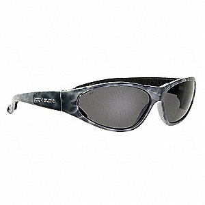 Scratch-Resistant Polarized Eyewear, Gray Lens Color