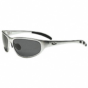 300 Series,OR County Chopper Scratch-Resistant Polarized Eyewear, Gray Lens Color