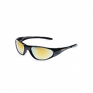 Ventilator Scratch-Resistant Safety Glasses, Smoke Lens Color