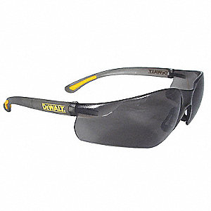 Safety Glasses,Smoke,Scratch-Resistant
