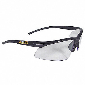 Radius  Scratch-Resistant Safety Glasses, Clear Lens Color
