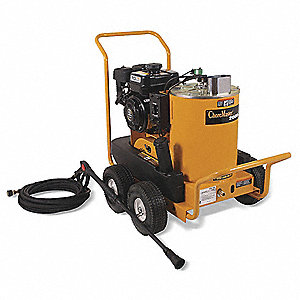 Pressure Washer, Hot Water Type, 2000 psi, 2.5 gpm