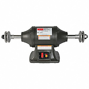 Industrial Buffer,10 In,1725/3450 RPM