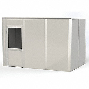 Modular In-Plant Office,4Wall,8x12,Vinyl