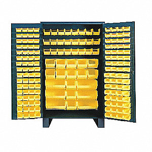 "Bin Cabinet, 78"" Overall Height, 48"" Overall Width, Total Number of Bins 171"