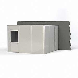 Modular InPlant Office,3Wall,12x12,Steel