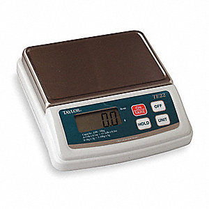 10kg/20 lb. Digital LCD Compact Bench Scale