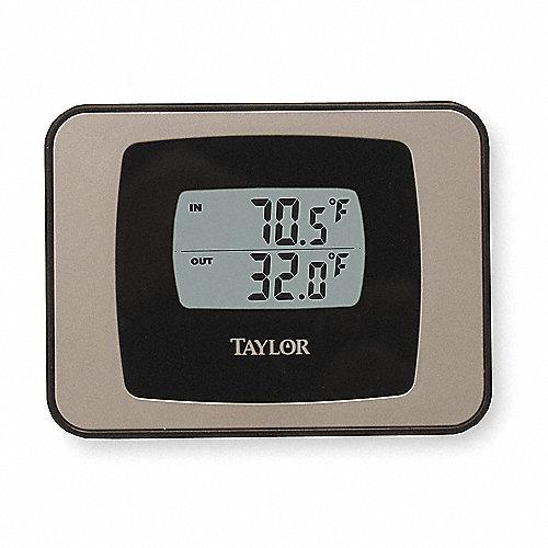 Taylor term metro digital muro al 3 pulg term metros para ventanas escritorios pared 3nzl1 - Termometro de pared ...