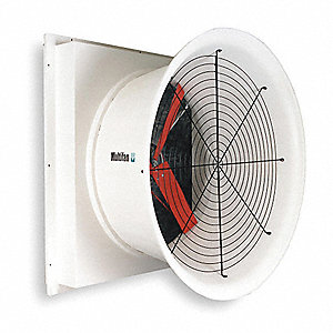 240V High Efficiency, Belt Drive Cone Agricultural Exhaust Fan,  HP