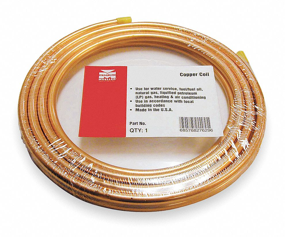 """HOWELL METAL 1-1//8/"""" X 50/' FOOT SOFT ACR COPPER REFRIGERATION TUBING NEW"""