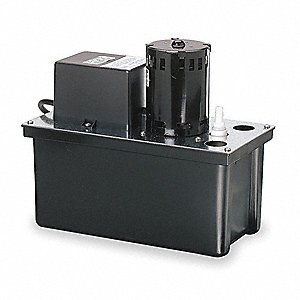 115V Large 1/18 HP Condensate Pump, 2.5 Amps, 10.4 psi