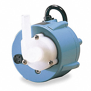 1/150 HP Compact Submersible Pump, 115V Voltage, Continuous Duty, 6 ft. Cord Length