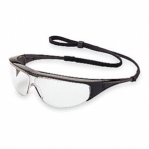 Millennia  Anti-Fog Safety Glasses, Clear Lens Color