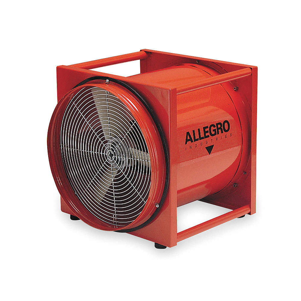 Explosion Proof Fan >> Allegro Axial Explosion Proof Confined Space Fan 1 2 Hp 115vac