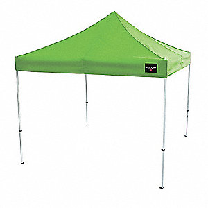 "Utility Canopy Shelter,  132"" Overall Height,  120"" Overall Length,  120"" Overall Width,  Polyester"