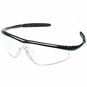 Quake  Scratch-Resistant Safety Glasses, Clear Lens Color