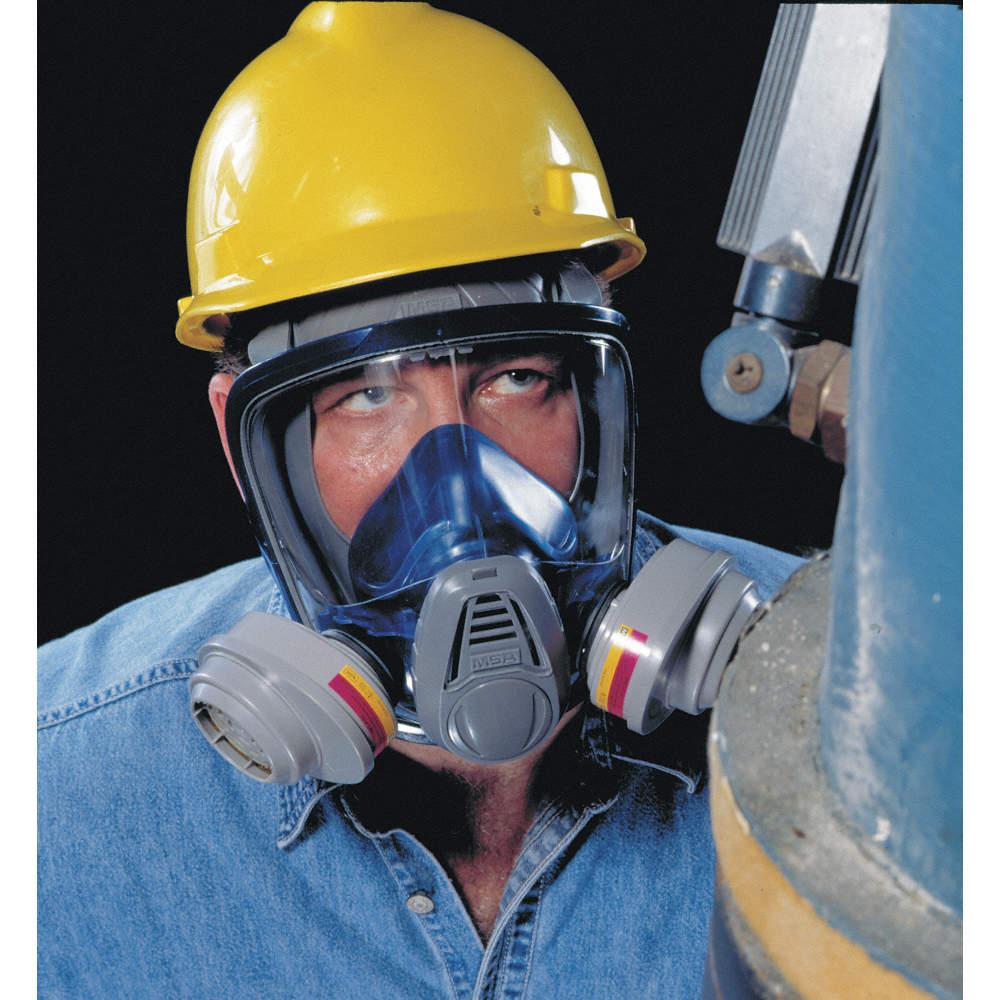 msa full face respirator mask