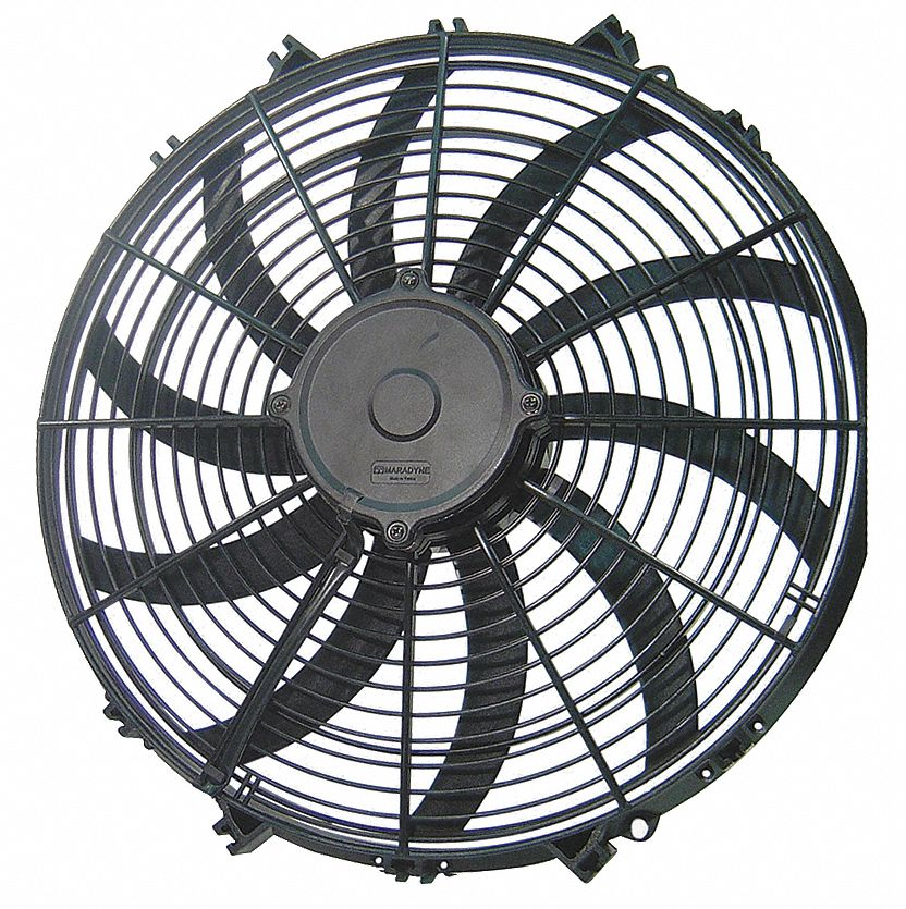 10 1 2 in x 11 1 2 in 12v dcv high performance exhaust fan