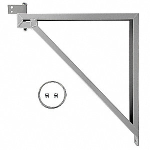 "Mounting Bracket For Use With Dayton Yoke-Mounted Air Circulator Heads Up Through 36"", Except Ceilin"