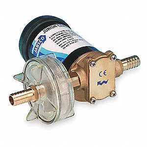 Rotary Gear Pump With Motor, 45 psi, Bronze,   HP,   Phase