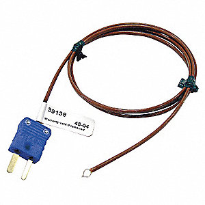 Mini T Thermocouple Air Temperature Probe, -328° to 400° Temp. Range (F)