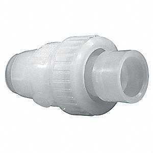 "3/4"" Check Valve, Archetype: Single, Inline Ball, Socket x Socket Fusion"