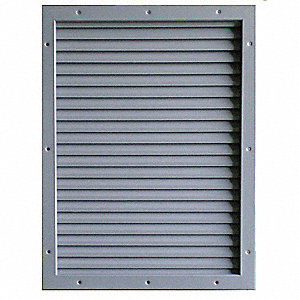 Door Louver Kit, 12x12 In