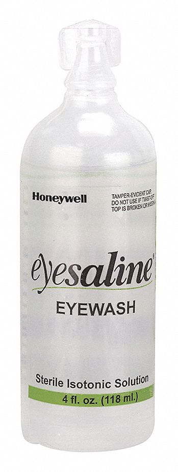 4 oz Personal Eye Wash Bottle, For Use With First Aid Kits or Toolboxes