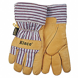 Pigskin, Safety Cuff, Tan, Left/Right Hand
