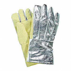 Heat Resistant Gloves, Thermobest , 600°F Max. Temp., Universal, PR 1