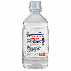 Saline, 1000mL Bottle