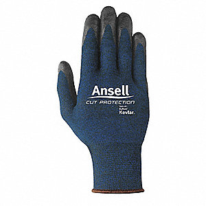 Nitrile Cut Resistant Gloves, ANSI/ISEA Cut Level 4, Kevlar®, Lycra®, Polyester, Stainless Steel Lin