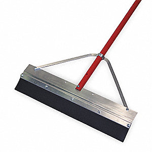 "Floor Squeegee,Straight,24"" W"