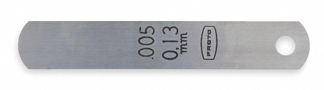 J004L J004L PROTO Feeler Gauge,0.004 In,12 In L