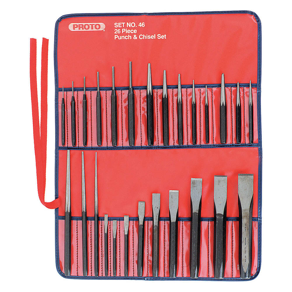 punch and chisel set. zoom out/reset: put photo at full \u0026 then double click. s2 steel punch and chisel set