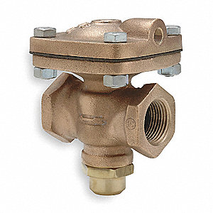 "3-1/2"" x 5-7/8"" x 6-3/8"" Air Operated Valve Normally Closed, 1-1/4"" Orifice Dia., 12 Coefficient of"