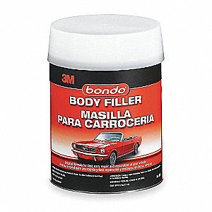 Body Filler W Hardener,Paste,1 Gal,Gray