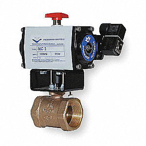 Butterfly Valve,Dbl Acting,1-1/2 In.
