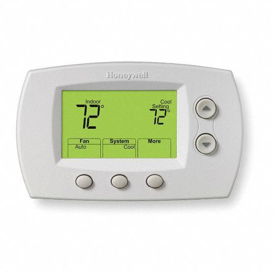 Honeywell Wireless T Stat Stg H 3 Or 2 Stg C 2 279a66 Th5320r1002 Grainger