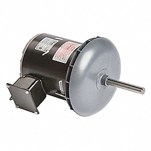 5/8 HP Condenser Fan Motor,Permanent Split Capacitor,1075 Nameplate RPM,200-230/460 Voltage,Frame 48