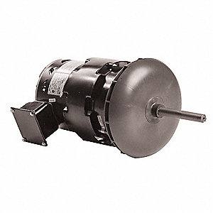 1-1/2 HP Condenser Fan Motor,3-Phase,1120 Nameplate RPM,200-230/460 Voltage,Frame 48Y