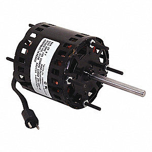1/20 HP Direct Drive Blower Motor, 1550 Nameplate RPM, 115 Voltage, Frame 3.3
