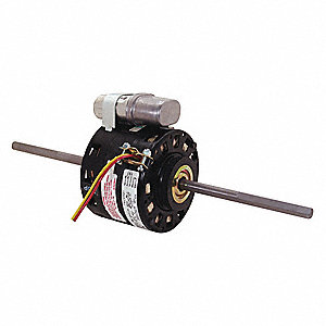 1/4 HP Room Air Conditioner Motor,Permanent Split Capacitor,1625 Nameplate RPM,208-230 Voltage,Frame