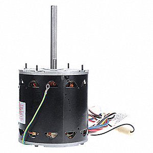 3/4 HP Direct Drive Blower Motor, Permanent Split Capacitor, 1075 Nameplate RPM, 115 Voltage