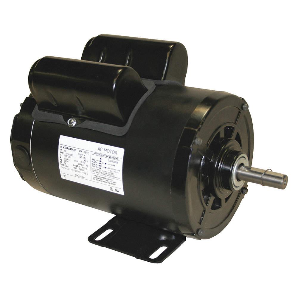 Chicken House Fan Motor 1 HP 1725 RPM 115//230 Volt  56Z Frame